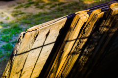 Nested Wood Plank Detail Royalty Free Stock Images
