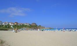 Nestinarka strand, Tsarevo Bulgarien Arkivbild