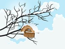 Nesting box Stock Photography