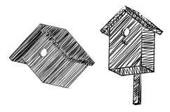 Nesting box Royalty Free Stock Image
