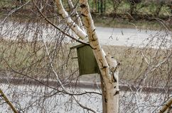 Nesting-box Royalty Free Stock Image