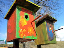 Nesting-boxes Royalty Free Stock Images