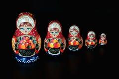 Nesting dolls Stock Image