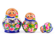 Nesting dolls Royalty Free Stock Photography