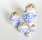 Nesting Dolls Stock Photos