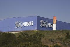 Nestle-fabriek Stock Afbeelding