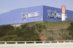 Nestle-Fabrik Lizenzfreie Stockbilder