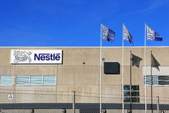 Nestle Factory in Turku, Finland Royalty Free Stock Images