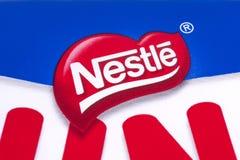 Nestle firmy logo Zdjęcia Stock