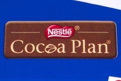 Nestle-Kakao-Plan lizenzfreies stockfoto