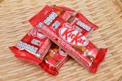 Nestle kit kat chocolate bar Stock Image