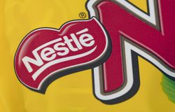 Nestle logo zdjęcia royalty free