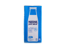 Nestle milk product shot Stock Photo