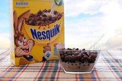 Nestle nesquik artykuł wstępny zdjęcia stock