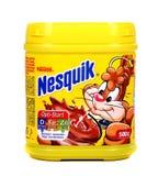 Nestle Nesquik kakao fotografia stock