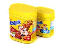 Nestle Nesquik kakao obrazy royalty free
