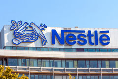 Nestle Office Building Frankfurt Stock Photography