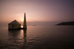 Dawn at breakfast island odisha