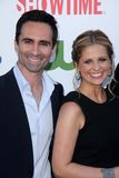 Nestor Carbonell,Sarah Michelle Gellar Stock Photos