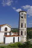 Nestorio Church Bell. Nestorio is a small picturesque village 28 km southwestwards of Kastoria, at the banks of the river Aliakmon Royalty Free Stock Image