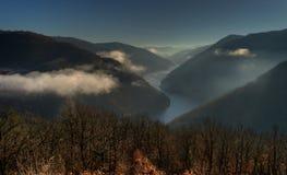 Nestos River in Northern Greece.  Stock Photo