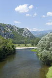 Nestos river at Thrace Royalty Free Stock Photography