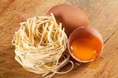 Free Nests Of Pasta. Stock Image - 33129431