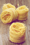 Nests of Raw Vermicelli Royalty Free Stock Photo