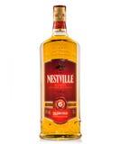 Nestville mezcló el whisky Imágenes de archivo libres de regalías