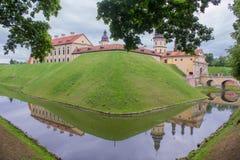 Nesvizh城堡 库存照片