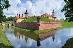 nesvizh замока Беларуси стоковая фотография rf