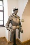 NESVIZH, BIELORRUSIA - 20 de mayo de 2017: Detalles y elementos del interior de un castillo medieval en Nesvizh Fotografía de archivo