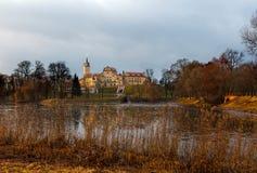Nesvizh Castle. Belarus Stock Image