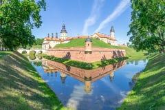 Nesvizh Castle in Belarus Stock Photo