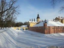 Nesvizh castle in Belarus Stock Images