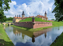 Nesvizh Castle, Belarus Stock Photo
