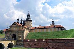 Nesvizh Castle in Belarus Stock Photos