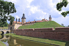 Nesvizh Castle in Belarus Stock Image