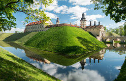 Nesvizh Castle Reflections Royalty Free Stock Image