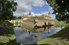Nesvizh Palace in Belarus Stock Images