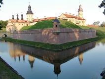 Nesvizh Schloss (Weißrussland) Stockbilder