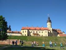 Nesvizh slott royaltyfri foto
