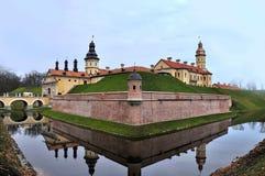 Nesvizh slott Arkivfoto