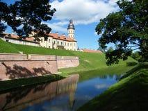 Nesvizh slott royaltyfri bild