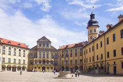 Nesvizh slott Fotografering för Bildbyråer