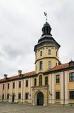 Nesvizhkasteel, Wit-Rusland stock afbeelding