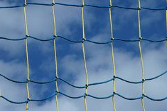 Net. Against the sky stock photos