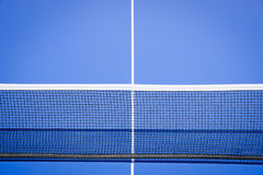Net. Details of a tennis net Royalty Free Stock Photography