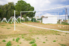 Net background for the game of volleyball.  royalty free stock photography