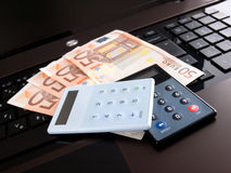 Net banking Royalty Free Stock Photo